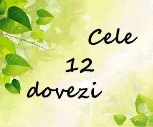 Cele 12 dovezi