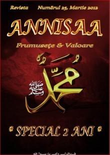 Revista Annisaa – Numarul 25